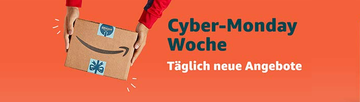 Amazon Cyber Monday Week gestartet Bild