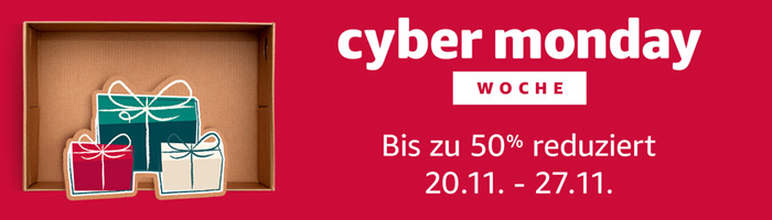 Amazon Cyber Monday Week Bild