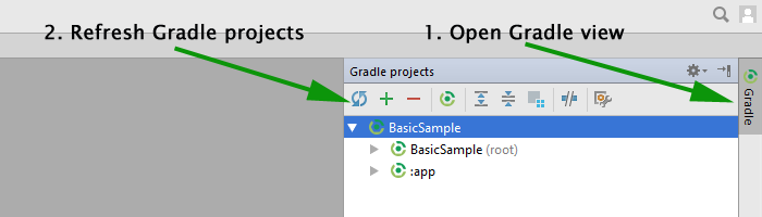 Android Studio - NoSuchMethodError für Dependencies Bild