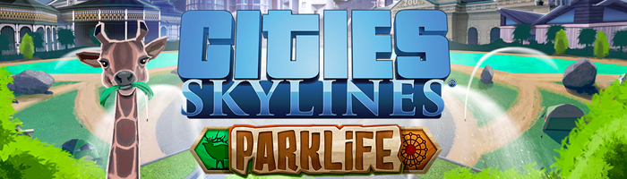Cities: Skylines - Parklife DLC Release Bild