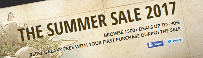 GOG Summer Sale 2017 Bild