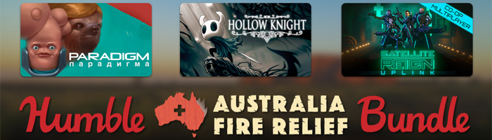 Humble Australia Fire Relief Bundle Bild