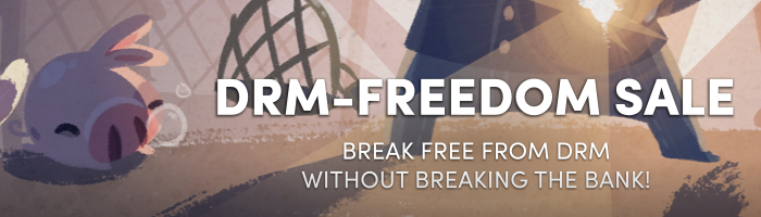 Humble DRM Freedom Sale Bild