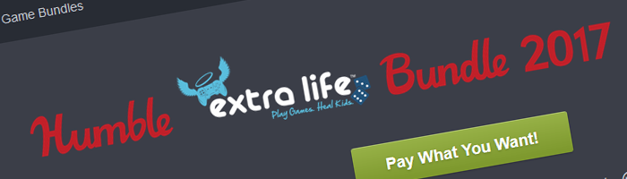 Humble Extra Life Bundle 2017  Bild