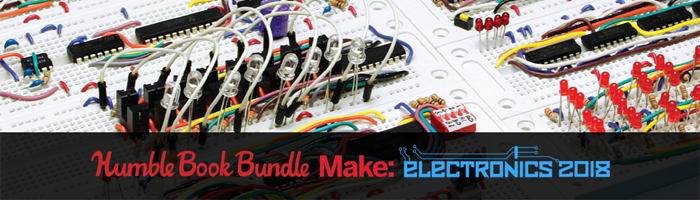 Humble Book Bundle - Head First und Make Electronics Bild