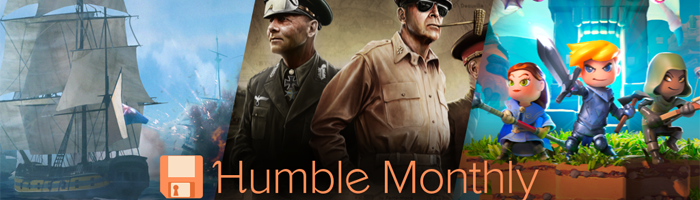 Humble Monthly Bundle im Juli Bild
