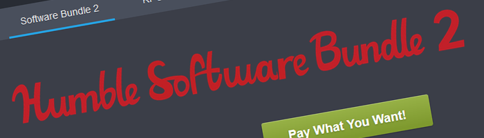 Humble Software Bundle 2 Bild