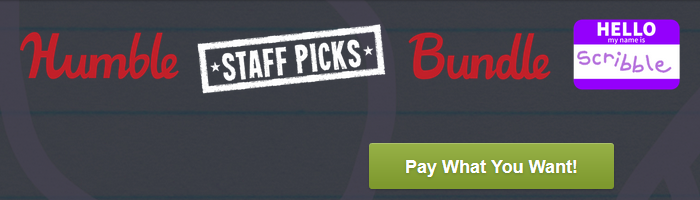 Humble Staff Picks Scribble Bundle Bild