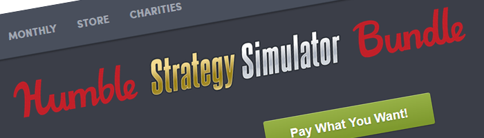 Humble Strategy Simulator Bundle Bild