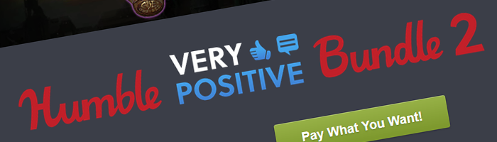 Humble Very Positive Bundle 2 Bild