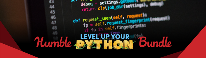 Humble Level Up Your Python Bundle Bild