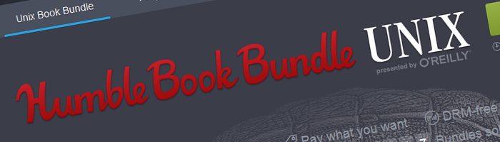 Humble Unix Book Bundle Bild