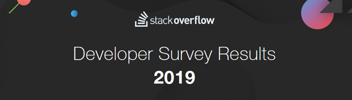 Stack Overflow Developer Survey 2019 Bild